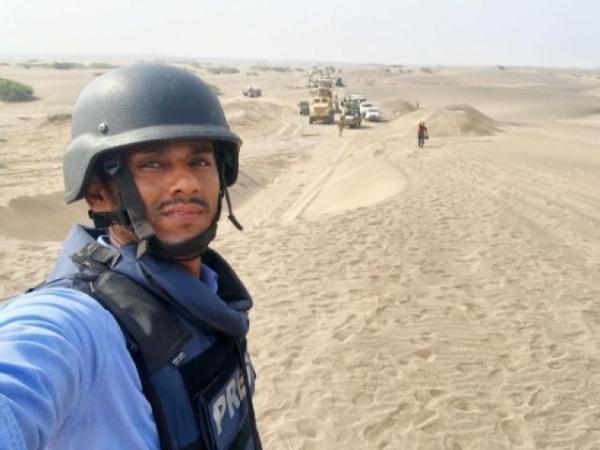 عدن .. اغتيال مصور حربي يعمل مع الانتقالي ووكالة الصحافة الفرنسية برصاص مجهولين