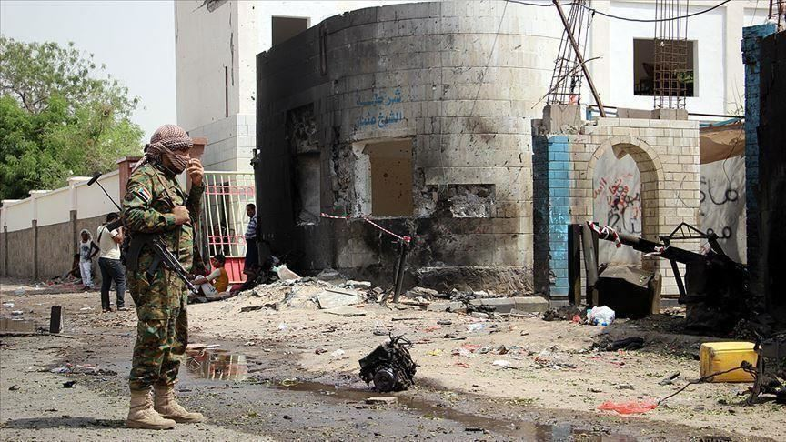 مسلحو الانتقالي يستهدفون رتلًا عسكريًا سعوديًا في عدن