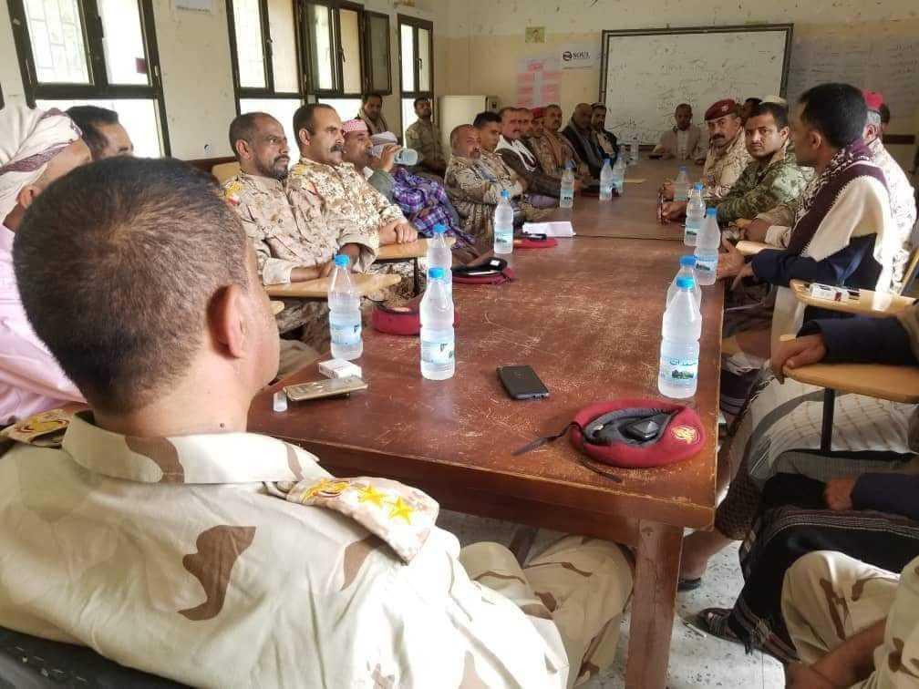 انعقاد أول اجتماع لقيادة اللواء 35 مدرع منذ مقتل قائده العميد الحمادي