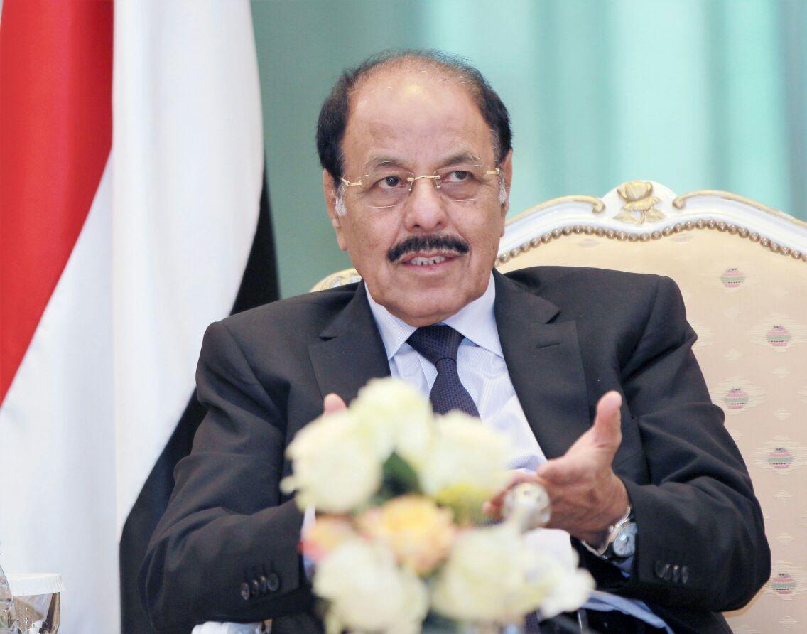نائب الرئيس: لن ينسى اليمنيون مواقف مصر تجاه اليمن