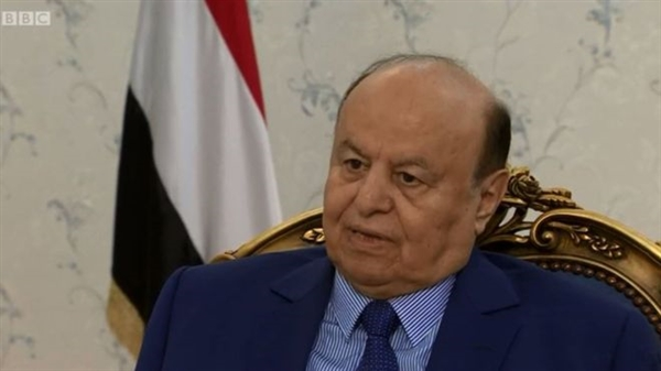 """الرئيس """"عاصفة الحزم"""" من أنجح القرارات العربية وجهود هزيمة المتمردين مستمرة"""