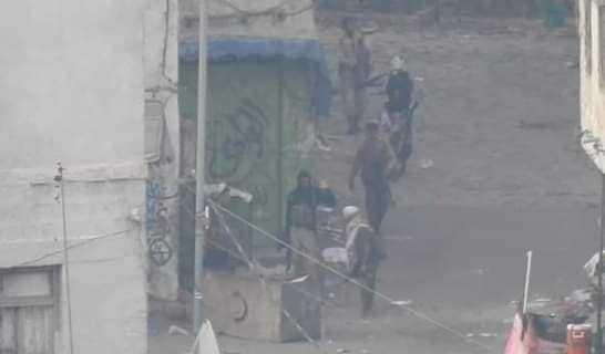 مواجهات عنيفة في تعز إثر مهاجمة كتائب أبو العباس أفراد الحملة الأمنية في المدينة القديمة