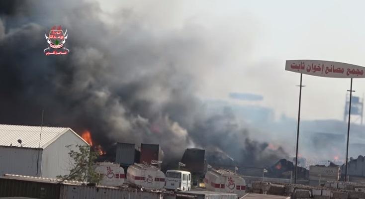 الحديدة.. إصابة سبعة عمال جراء قصف حوثي على مجمع إخوان ثابت